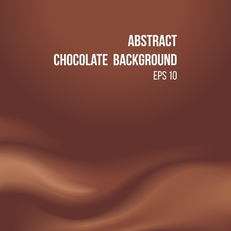 chocolate background: Abstract background with melting chocolate