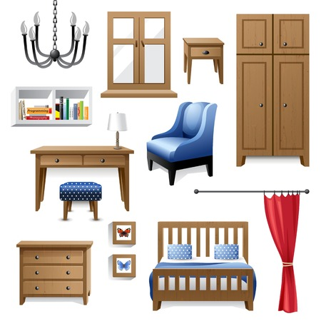 furniture icons for your designs Vector