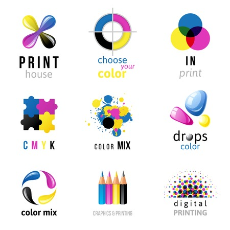 icon templates on white background