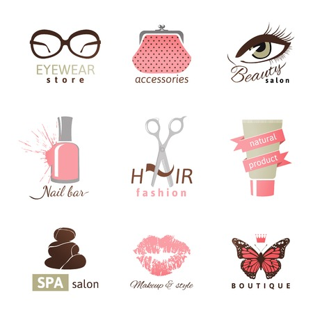 hair salon: 9 beauty and fashion templates