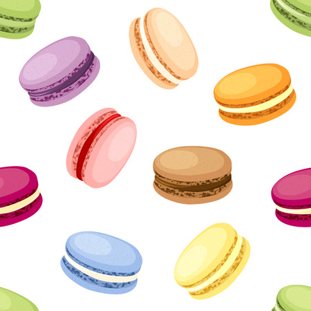 Set of 9 different taste macaroons