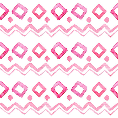 원활한 손으로 그린 수채화 패턴 스톡 콘텐츠 - 40657459