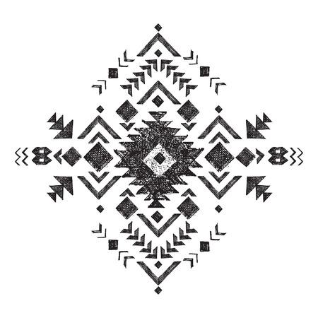 simbol: in bianco e nero tribale elemento di design