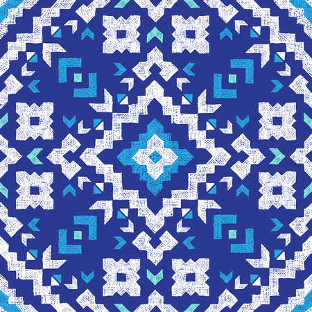 artwork: hand drawn highly detailed tribal seamless pattern
