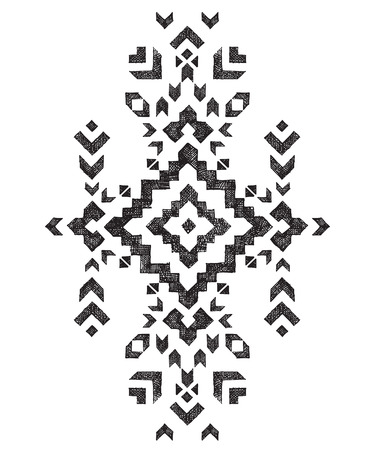 dreams: hand drawn tribal design element Illustration