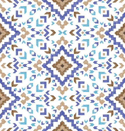 tribal pattern: hand drawn highly detailed tribal seamless pattern
