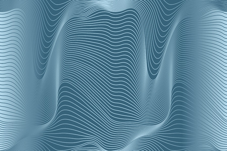 abstract wavy lines seamless pattern
