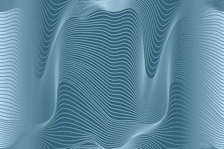 abstract wavy lines seamless pattern Stock Illustratie