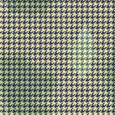Seamless houndstooth pattern in vintage style