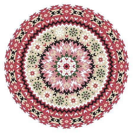 Madala decorative ornament Illustration