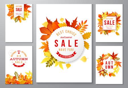 6 明るい秋のポスター
