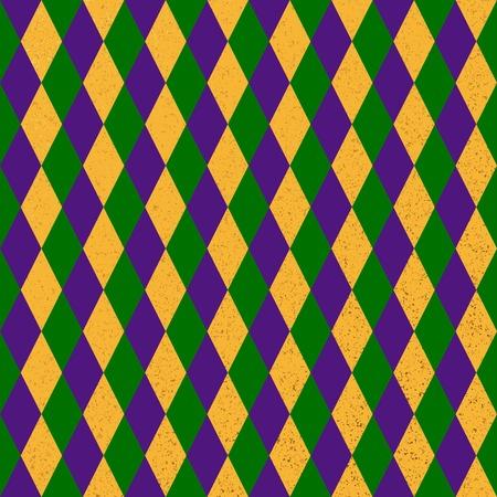 Mardi Grass seamless pattern