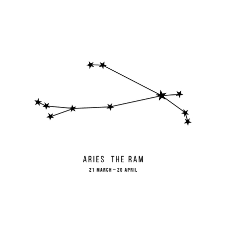 Zodiac constellation Aries