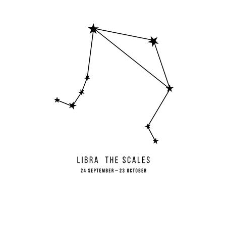 Zodiac constellation Libra