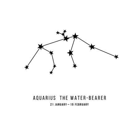 The Aquarius constellation