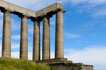 columnas romanas: Columnas romanas contra el cielo