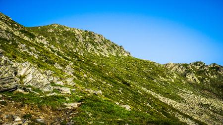 Beautiful Mountain Panorama View, Rila Mountain in Bulgaria