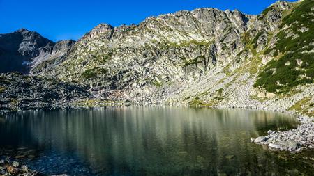 Musalenski Lakes, Rila Mountain in Bulgaria Stock Photo