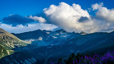 Musala Peak In Rila Mountain in Bulgaria (The Highest Peak On The Balkan Peninsula)