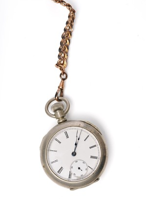 Vintage Pocket Watch and Chain