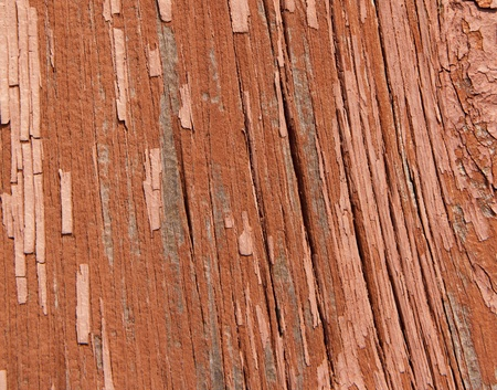 Close-up of a  the side of a decrepit old barn Stock Photo