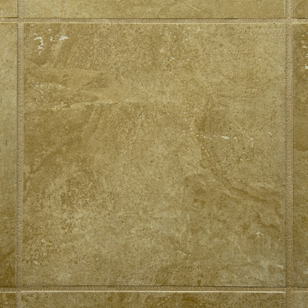 square marble tile with grout on each side
