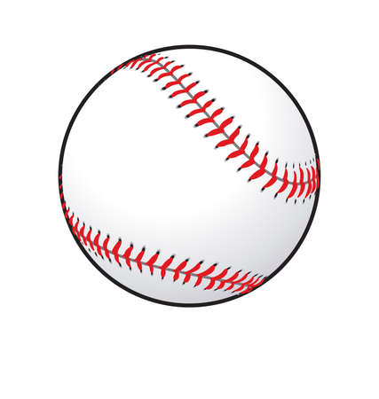 simple classic baseball shaded base ball vector Vecteurs