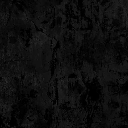 old plain slightly dirty grungy metal concrete wall texture black vector