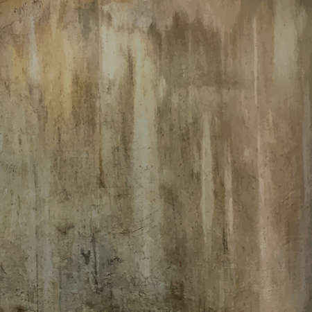 old plain slightly dirty grungy concrete wall texture vector