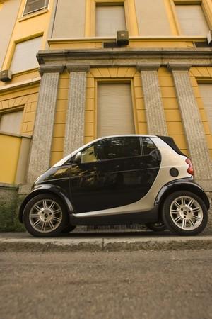 Smart car in Rome