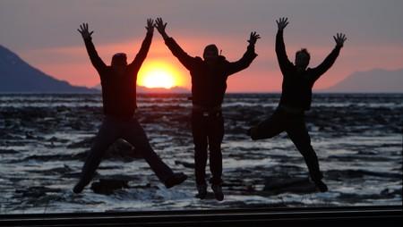 Jump for Joy in Alaska