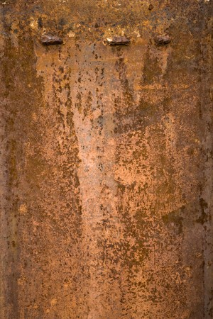 Rusted Steel Plate with three protrusions