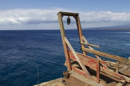 ka: Ka Lae or South Point on the Big Island of Hawaii Stock Photo