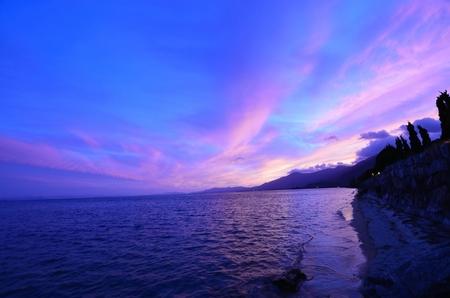 琵琶湖 写真素材