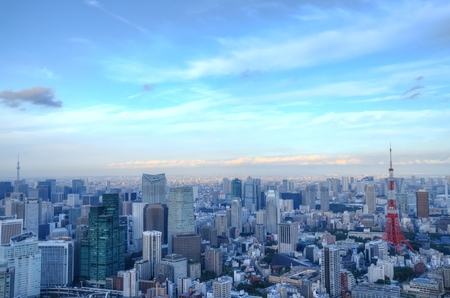 Tokyo cityscape: HDR