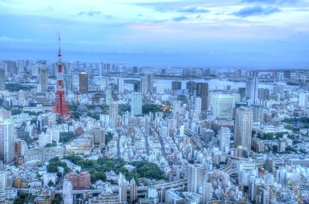 hdr: Tokyo cityscape: HDR