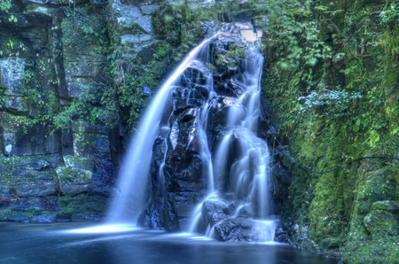 unexplored: Stream  waterfall