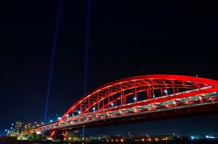 lightup: Kobe Ohashi bridge