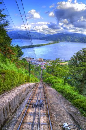 cable car: Cable car: HDR