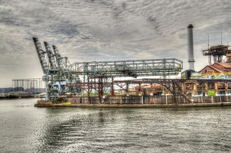 inorganic: Cranes: HDR Stock Photo