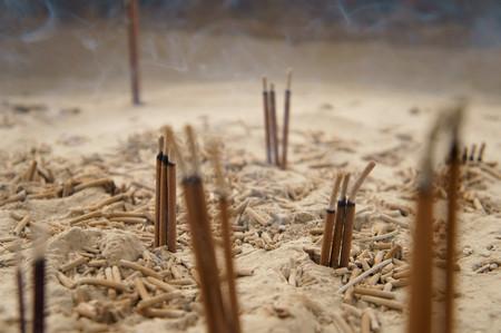 Incense: Incense sticks Stock Photo