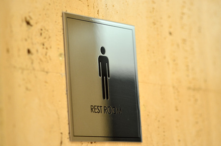 please wash your hands icon: Pictograms  mens room Stock Photo