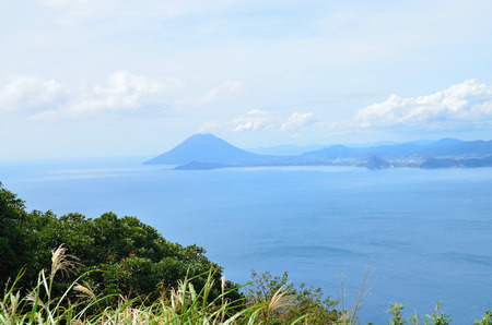 The view from the osumi peninsula