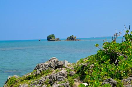 Okinawa shoreline