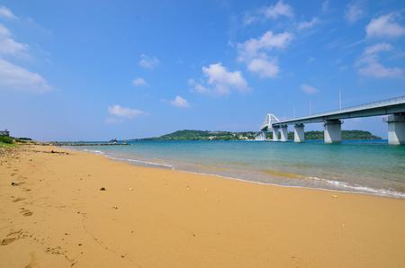 Okinawa and sesoko bridge