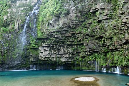 Waterfalls along the Ogawa