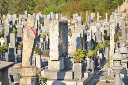 Japan's cemetery