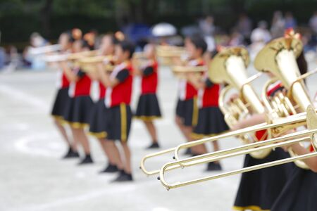 Childrens Marching Band 写真素材