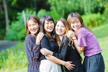 Women's Friendship 写真素材