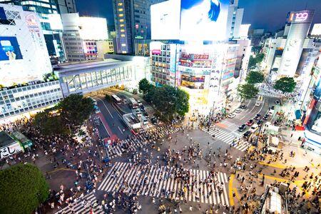 Shibuya Scramble Crossing, Tokyo